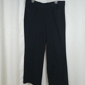 Lane Bryant Black Pull On Pants Size 14/16
